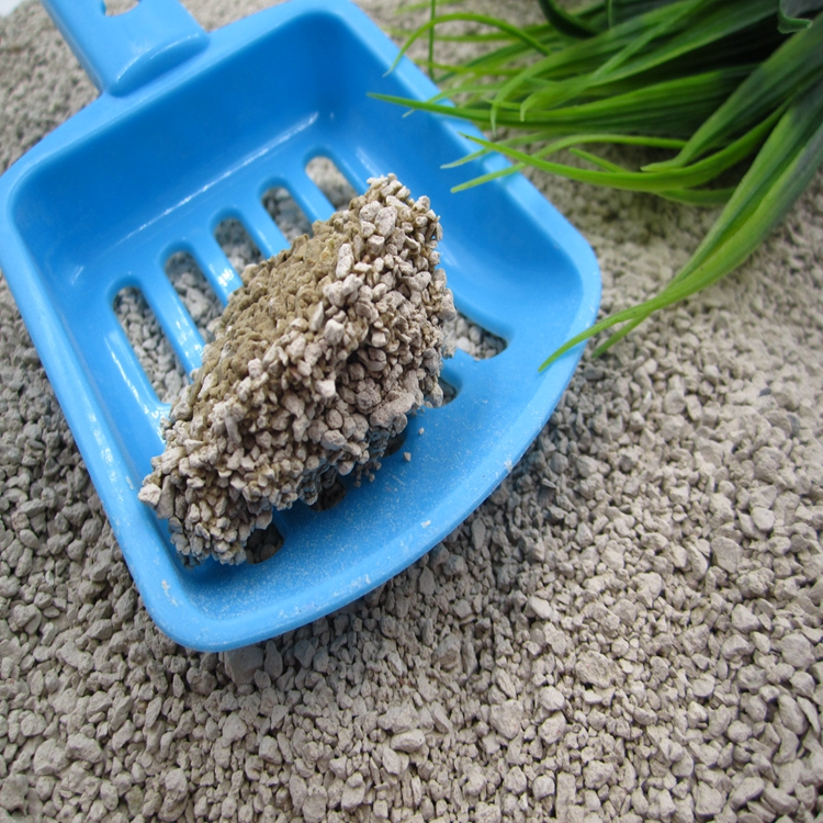 Precious Crushable Cat litter best clumping scoop out 1-4mm