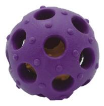Colorful durable TPR  pet dog chew toy ball