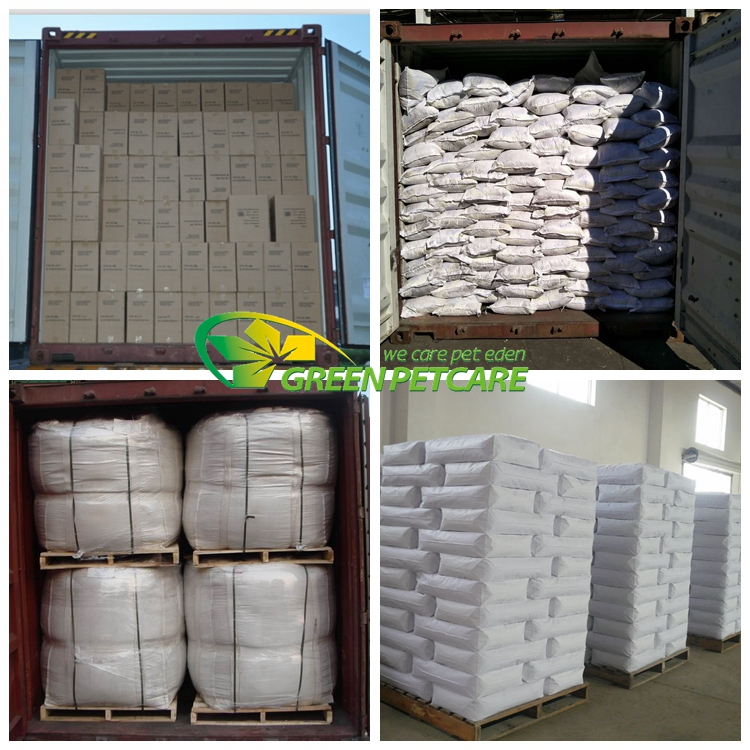 China Supplier Competitive Price Irregula  Cat Litter 1-4 mm
