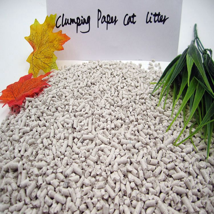 Eco-Friendly Clumping Paper Cat litter