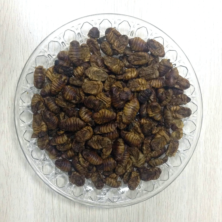 Top Grade Dried Silkworm for Fish Food Pellets