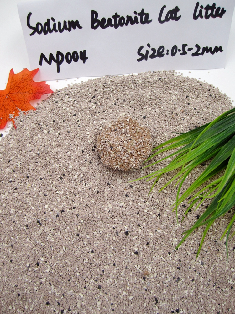 Non Tracking Sodium Bentonite Cat Litter GP004