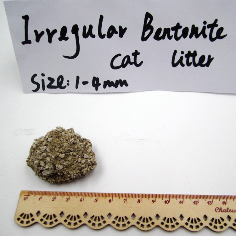 factory direct supply OEM Clumping bentonite cat litter0.5-1.5mm