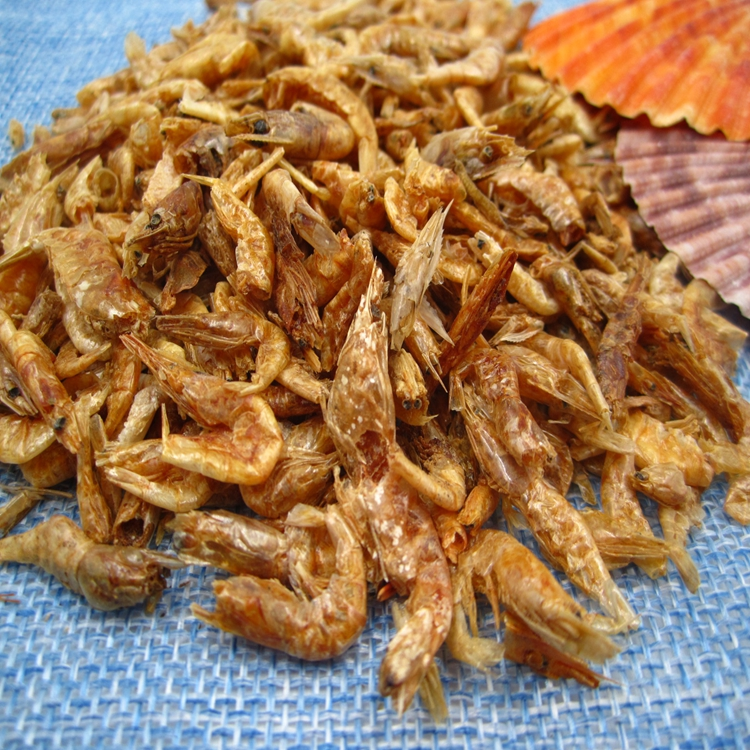 Dried Shrimp for Natural Pet Fish Food