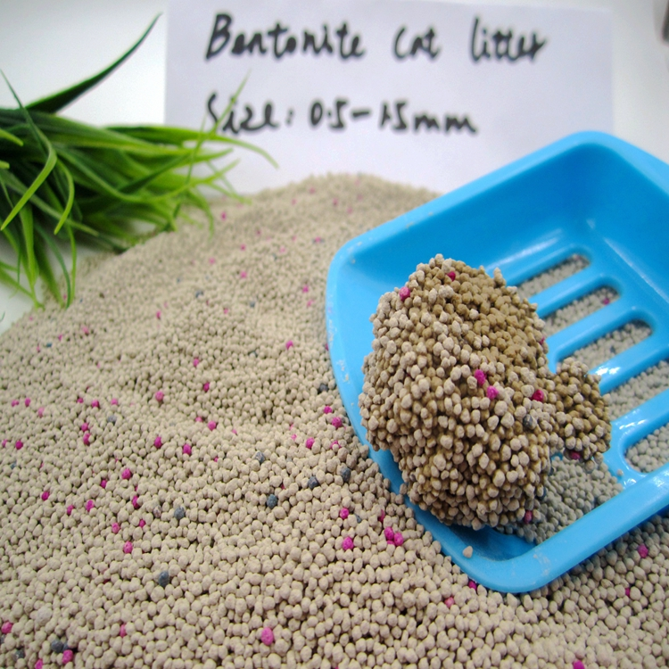 Clean Paws Popular Eco-friendly  Bentonite Cat litter0.5-1.5mm