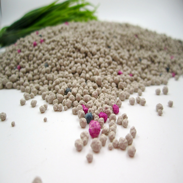 Clean Paws Popular Eco-friendly Ball Shape Bentonite Cat litter1-4mm