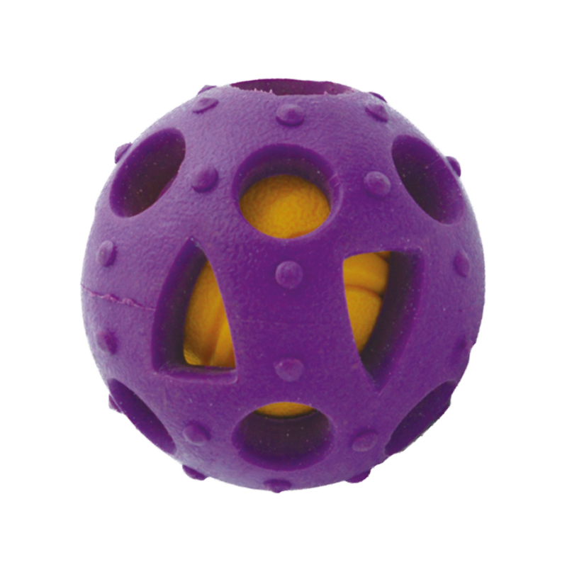 interactive rubber ball pet toys