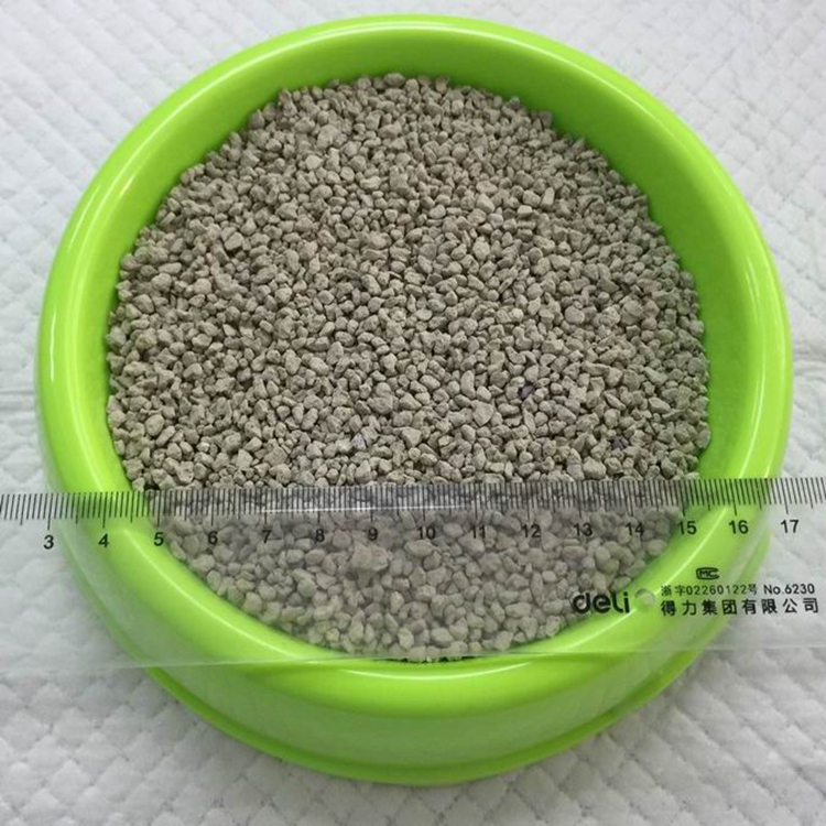 Eco-Friendly and Clean Up Broken Shape Cat litter 1-4mm