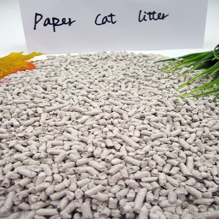The Dust Free Paper Cat Litter