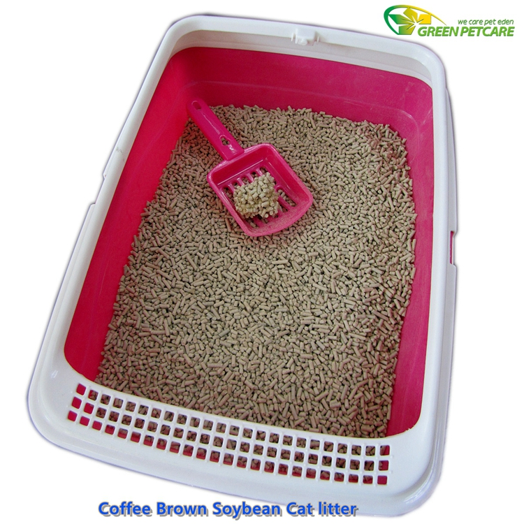 Cleaning Cat Litter Coffee Flavor