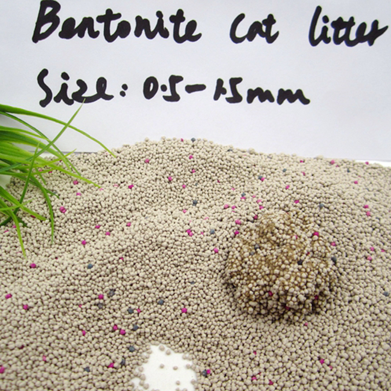 high absorption and odour control bentonite cat litter in China