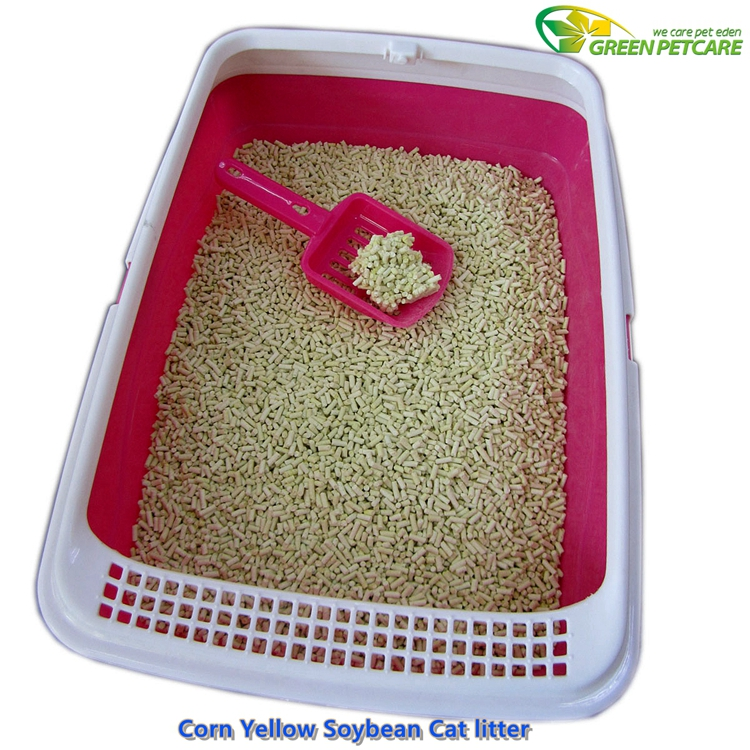 Corn Based Cat Litter Suppilier Tofu Cat Sand