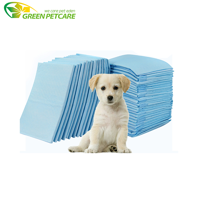 100 Count Quick Drying Surface Super absorption disposable pet dog cat training pads with imported SAP