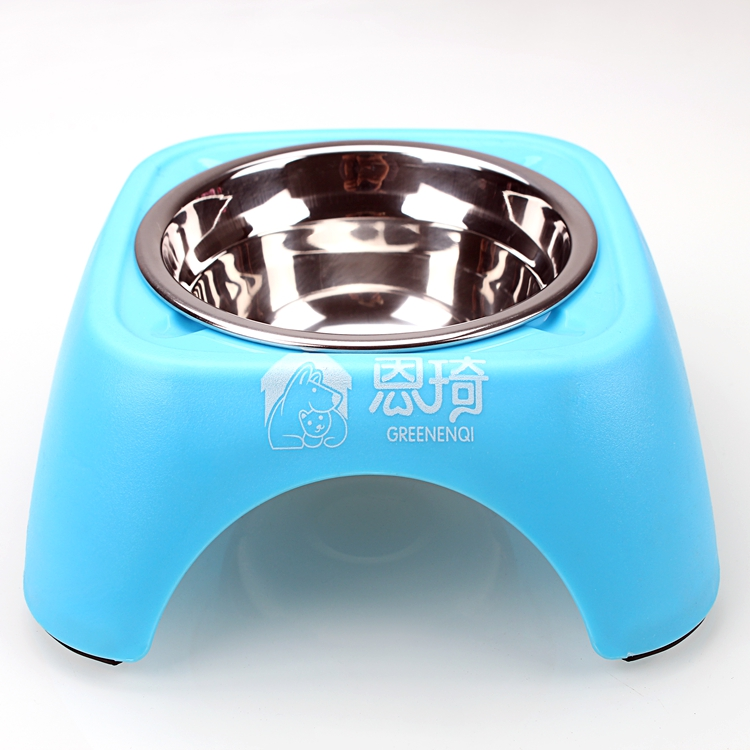 PP+Stainless steel  single dog Bowl