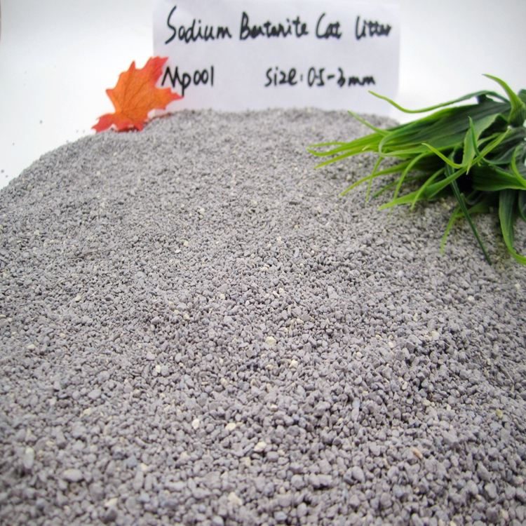 Popular Clumping Sodium Bentonite Cat Litter Cat Sand GP001