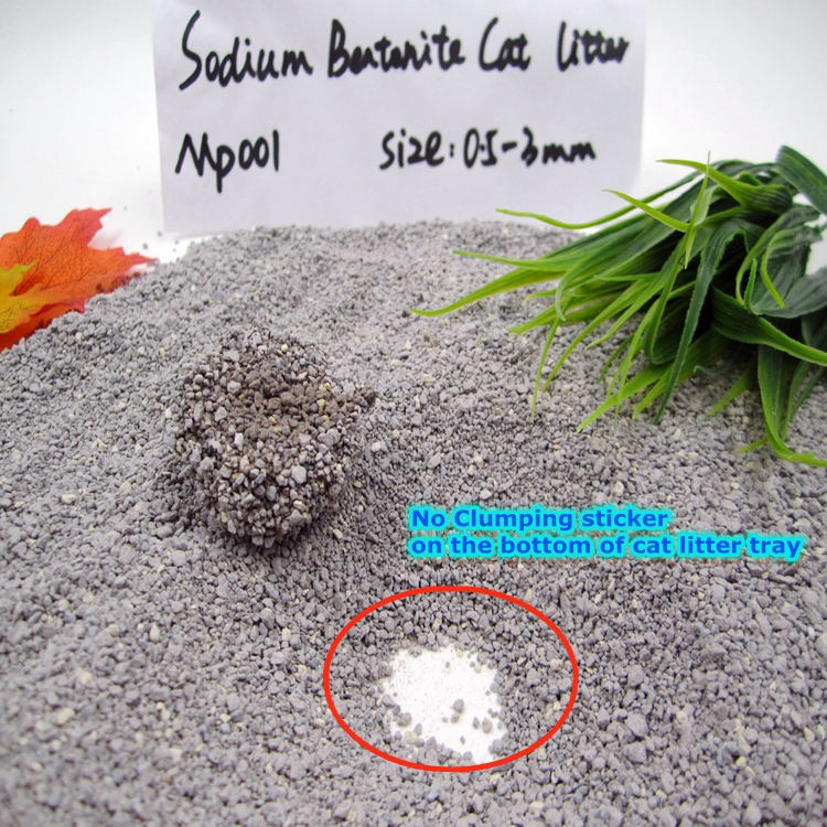Most Popular Sodium Bentonite Cat Litter Cat Sand GP001