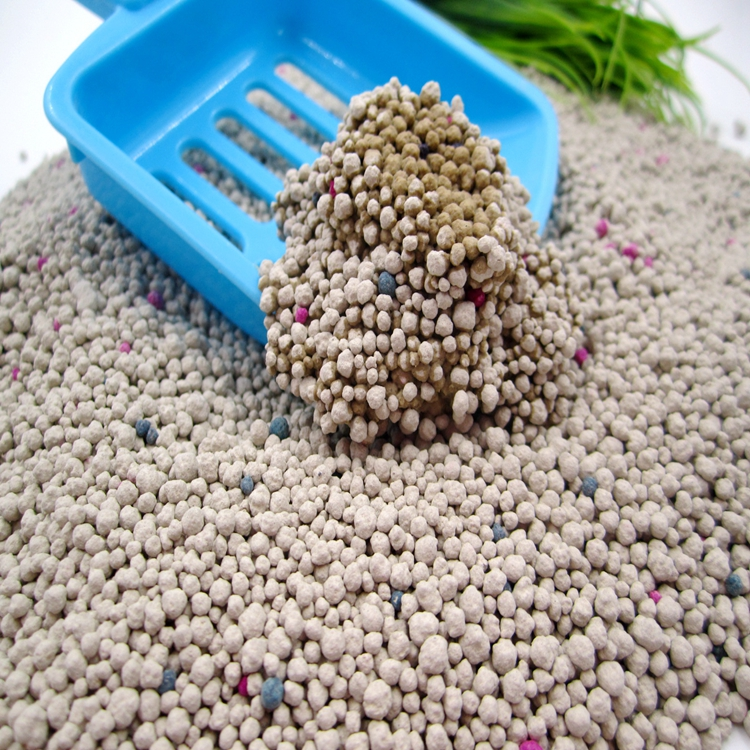 factory direct supply  Clumping bentonite cat litter1-4mm