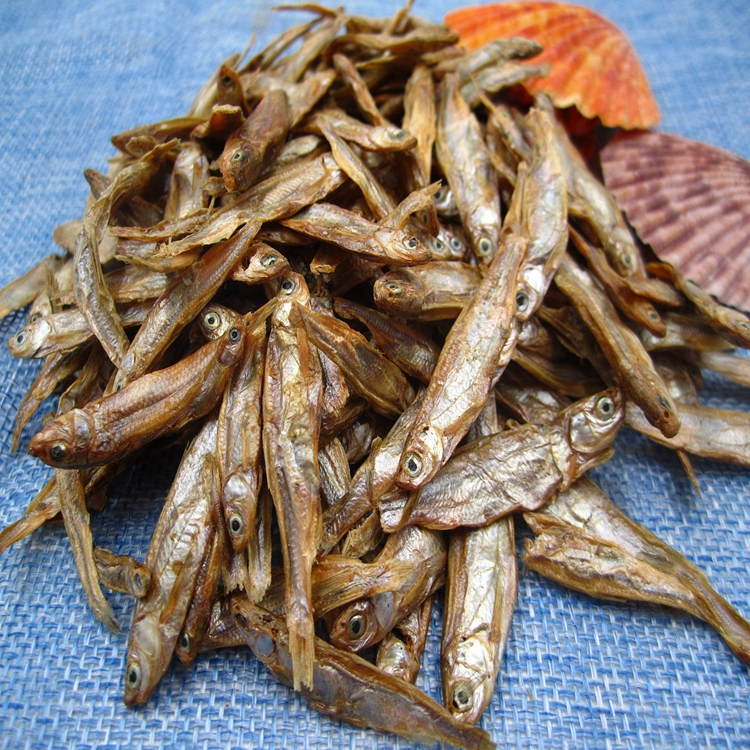 Sun dried fish factory