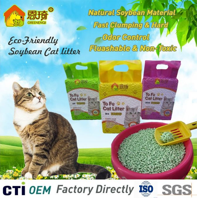 No tracking cat litter with natural clumping manufacture