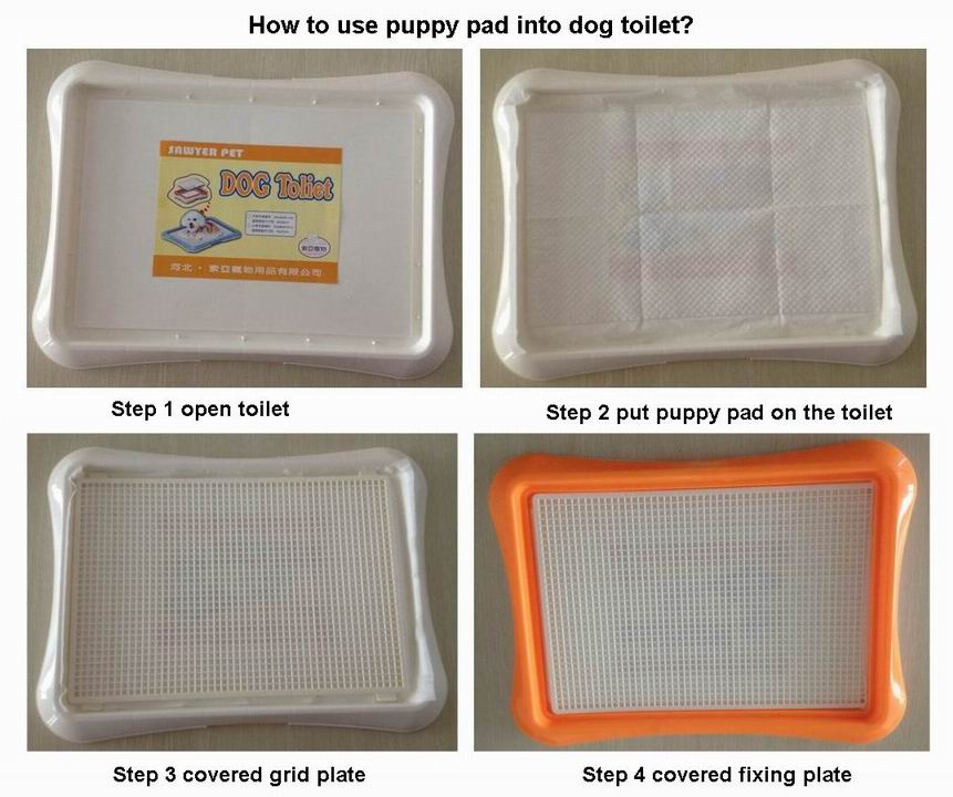 Pet training pads with 5 layers for dog training keep house clean