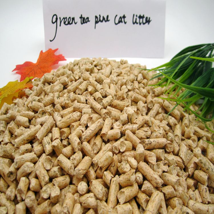 Green Tea Pine Cat litter.JPG
