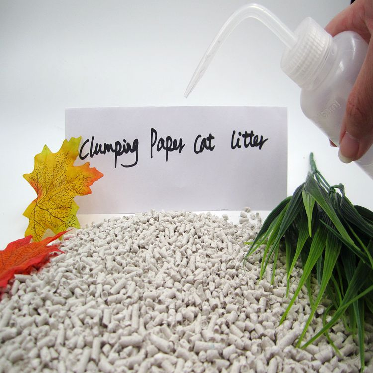 Paper Cat Litter Natural and Environmental