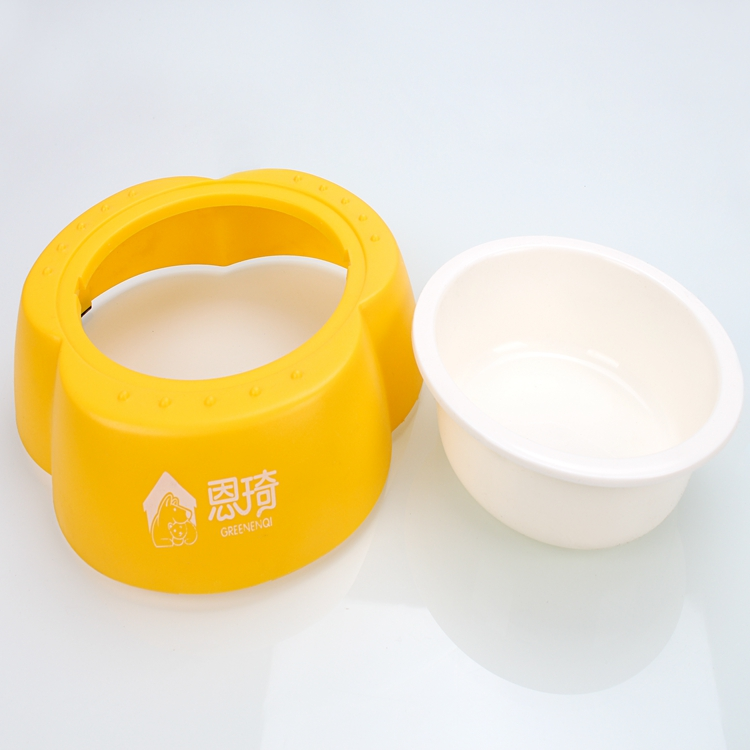 Animal Food Bowl Fashion Dog Dishes with Stand