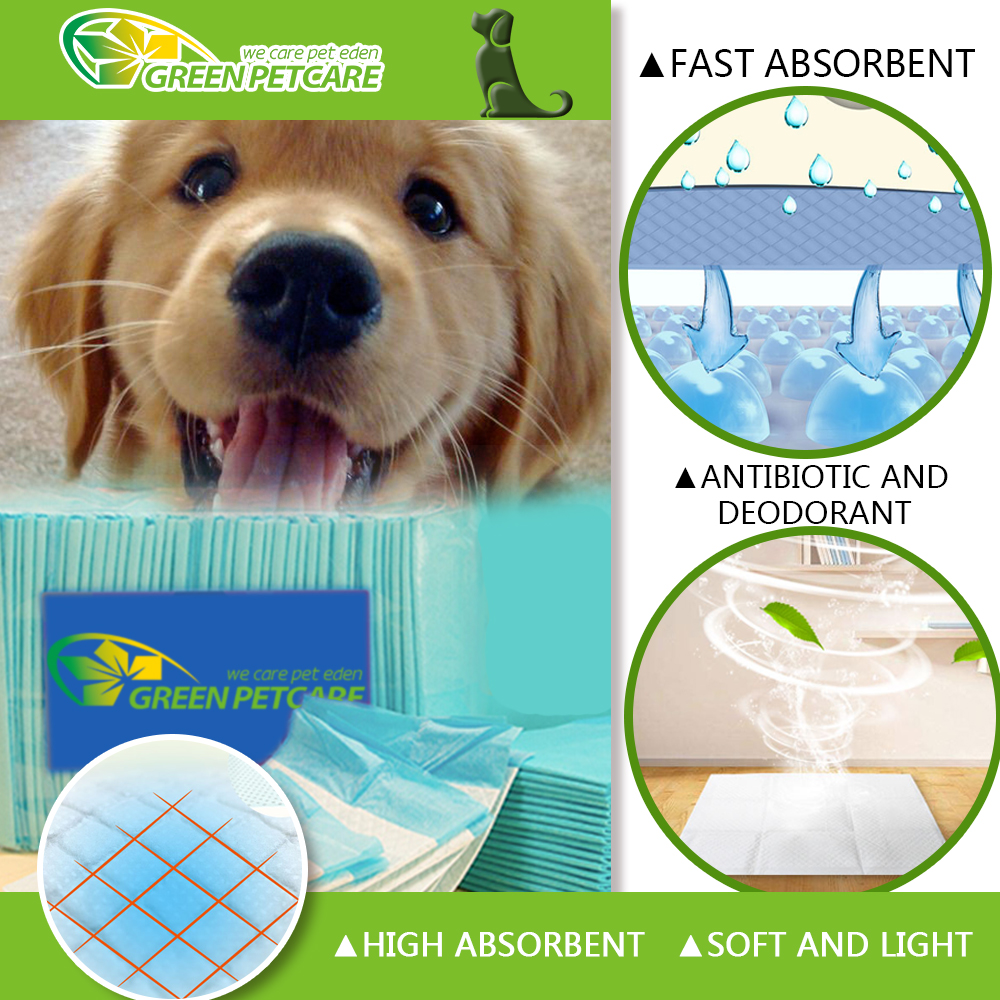 Super absorbent puppy pads pet training pads for pets dogs and cats