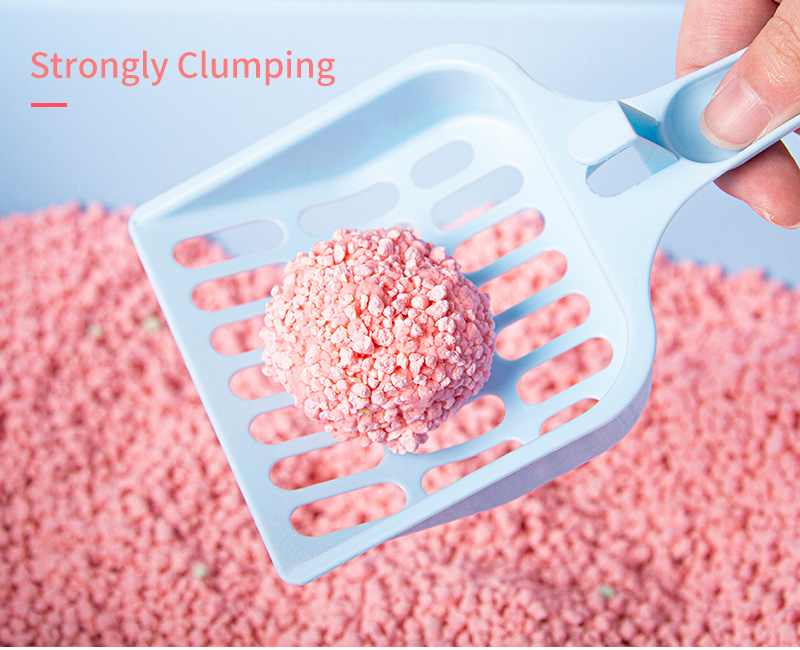 China manufacture flushable automatic quickly clumping bulk tofu cat litter