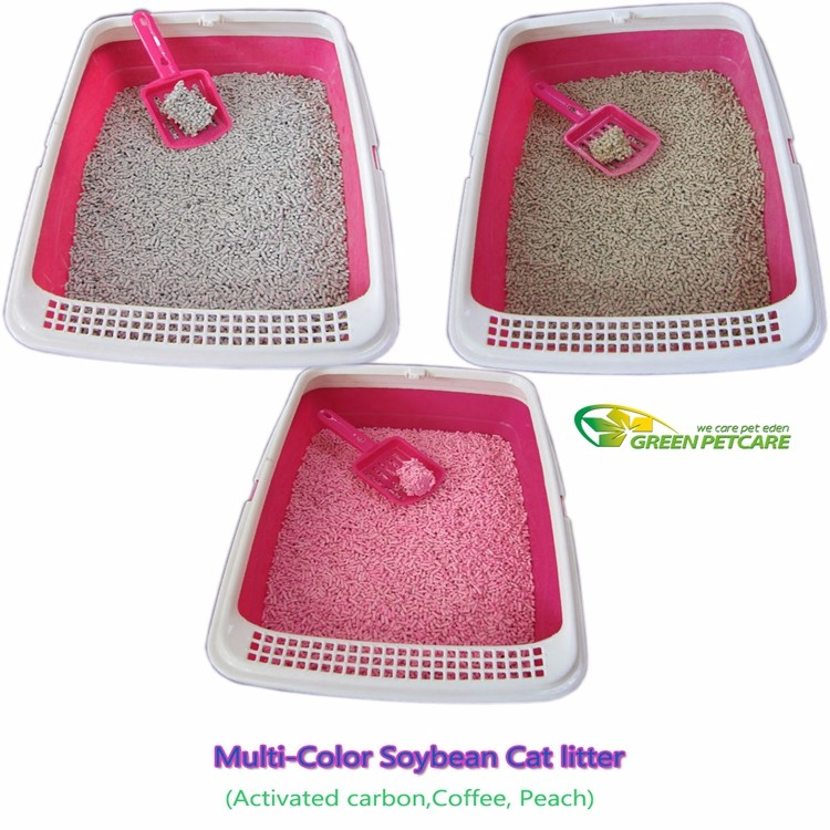 Natural Soft Cat Litter For Kitty Tofu Kitten Sand Wholesale