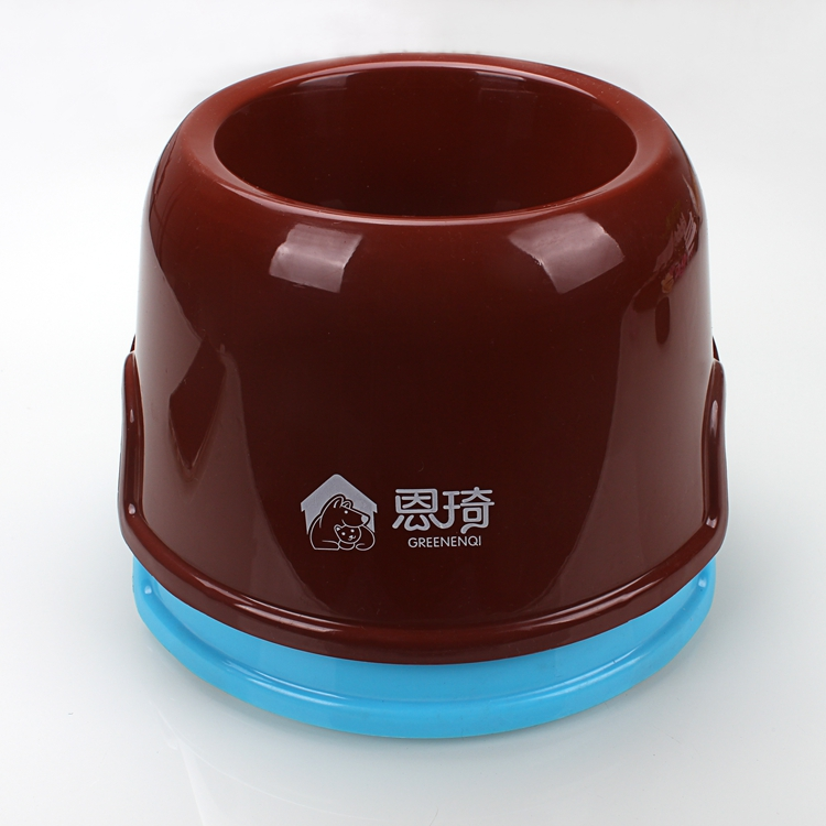 Plastic Pet Cat Dog Puppy Rabbit Animal Practical Food Water Bowl
