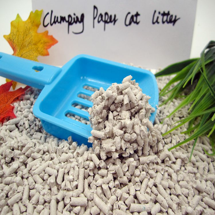 Great Clumping Paper Cat Litter Best Biodegradable litter