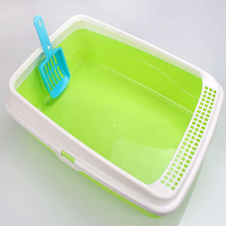 Factory Wholesale Plastic Cat Litter Box Dog Pet Toilet