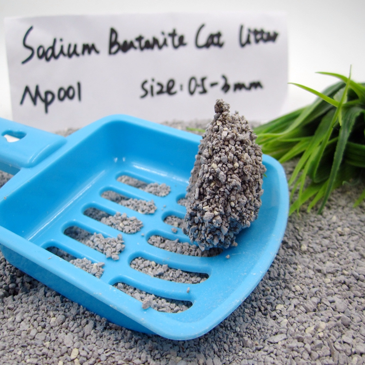Premium Clumping Sodium Bentonite Cat Litter GP001