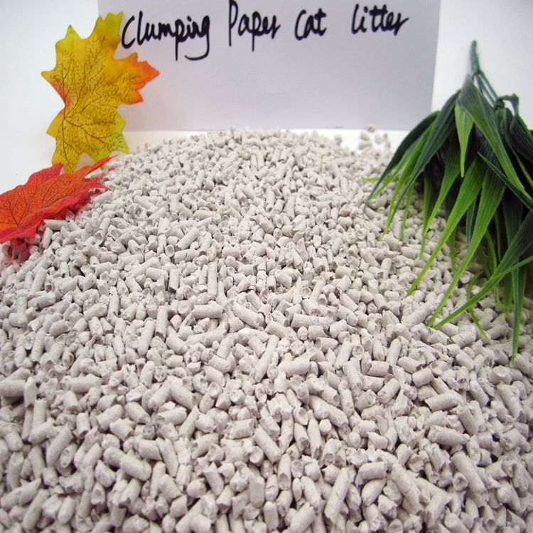 China Factory Supply Paper Cat Litter