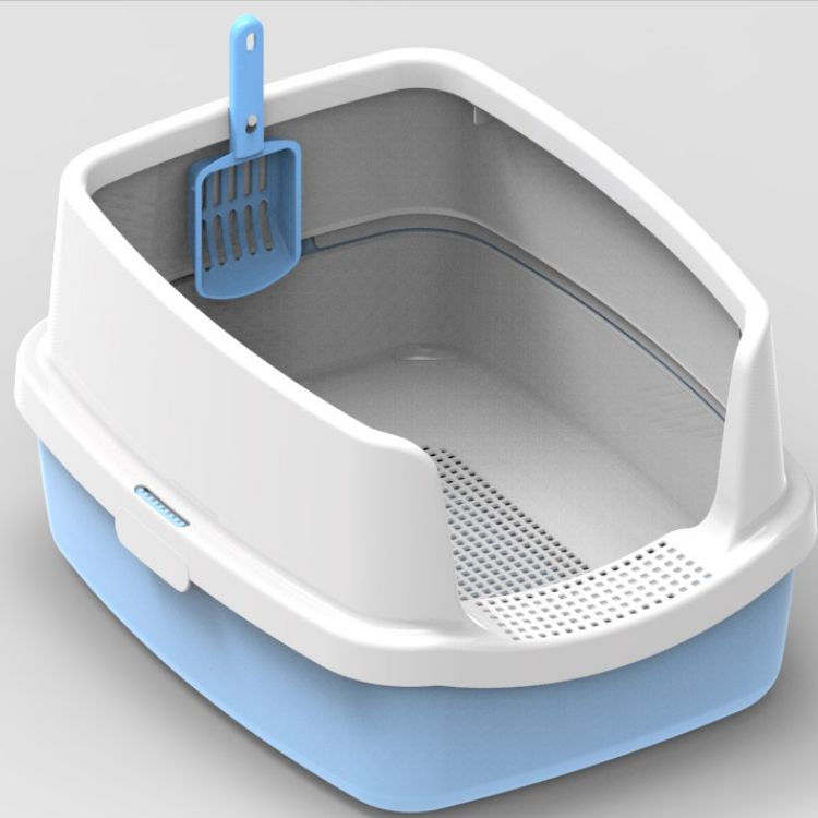 Classic Cat Litter Tray Durable Easy Clean manufacturer