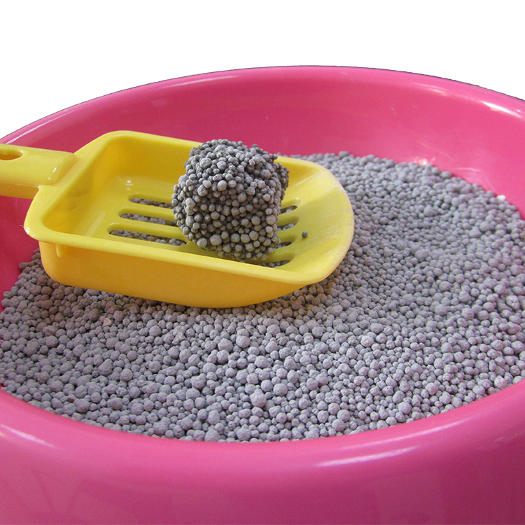 Bentonite cat litter with Lemon flavor manufacture in China