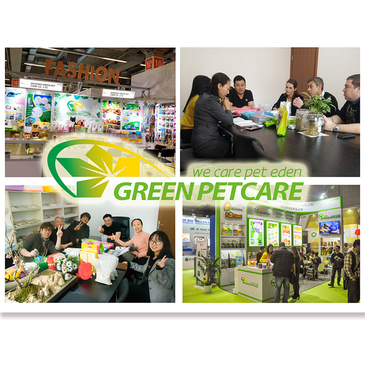 Green pet care attended 2018 interzoo